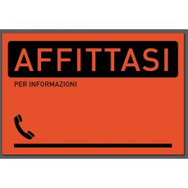 Cartelli AFFITTASI